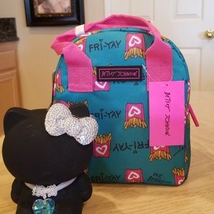 Betsey Johnson Bags Insulated Lunch Tote Poshmark